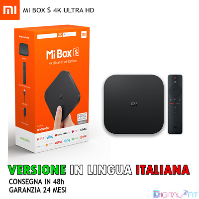 Xiaomi Mi Box S 4K HDR Android 8.1 TV Streaming Media Player Google Assistant