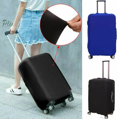 Travel Luggage Suitcase Cover Protector Bags Case  Dustproof Scratch Elastic AU
