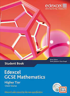 Edexcel GCSE Maths 2006: Linear Higher Student Book and Active Book, Tony Clough