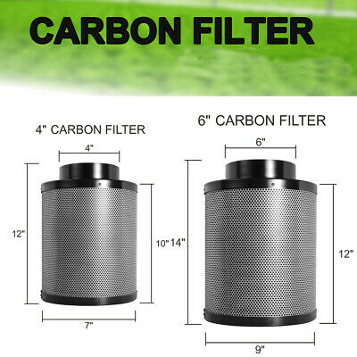 ,Smells Finest Quailty Odour 150 x 660 CarboAir Carbon Filter 6 inch 60mm Bed