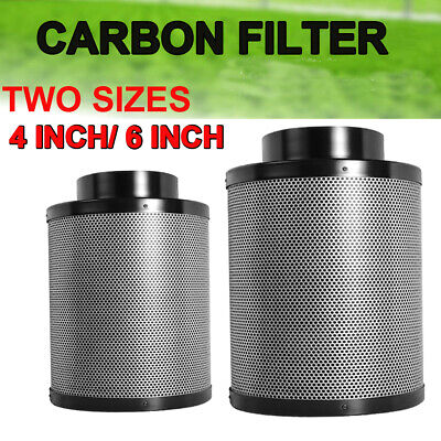 Pro Hobby Carbon Filter 4'' or 6'' Inch Hydroponics Gow Tent Air Purifier Parts