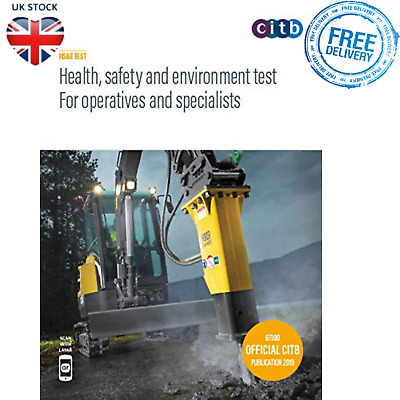 Health Safety Environment Test For Operatives Specialists CSCS Book Paperback
