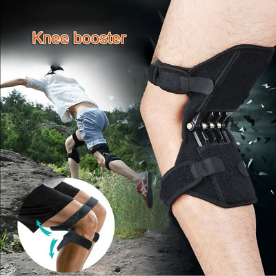 Power Knee Stabilizer Pad Lift Joint Support Powerful Rebound Spring Force 1pair