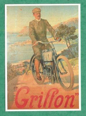 Carte Postale Cpm Cycles Moto Griffon