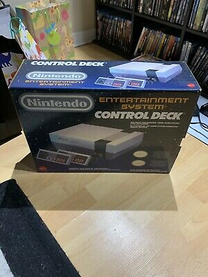 Nintendo Entertainment System Control Deck Console - CIB Box in great shape