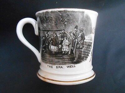 Late Victorian * THE SPA WELL * Souvenir * PRESENT FROM GILSLAND * Mug