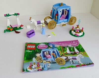 Lego Disney Princess 41053 Cinderella's Dream Carriage with instructions
