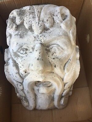 Huge Stone Masons Plaster  Corbel Models 19thC Antique Salvage French
