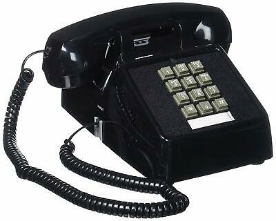 Retro Emergency Phone Black Push Button Vintage Telephone Corded Collectors Gift