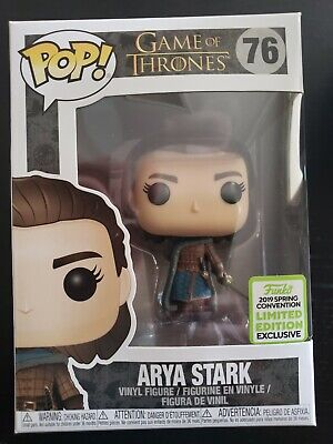 Funko Pop - Arya Stark #76 - Game of Thrones - ECCC 2019 - NO DAMAGE