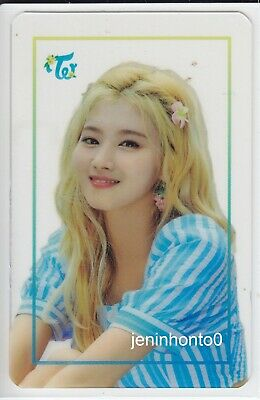 TWICE POPUP STORE Twaii's SHOP SEOUL OFFICIAL GOODS SANA TRANSPARENT PHOTOCARD
