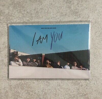 Stray Kids I Am YOU Official Preorder Postcard Book 1 (NO PHOTOCARD)