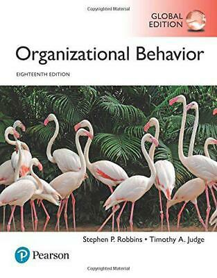 Organisationnels Comportement, Global Edition par Judge, Timothy A Robbins,