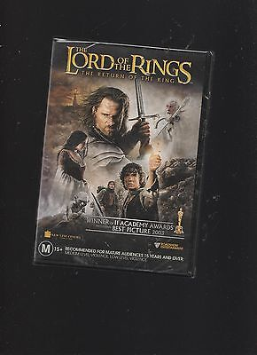 NEW/SEALED:J R R Tolkien/Lord Of The Rings The Return Of The King 2 DVD Set