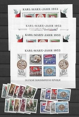 1953 MNH DDR year collection over-complete, postfris**