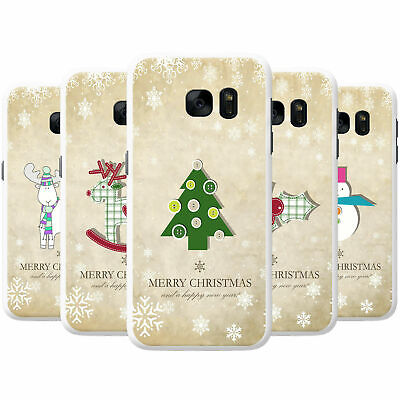 Christmas & New Year Wishes Snap-on Hard Back Case Phone Cover for LG Phones