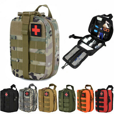 TACTICAL IFAK FIRST Aid Kit Emergency Medical MOLLE Pouch