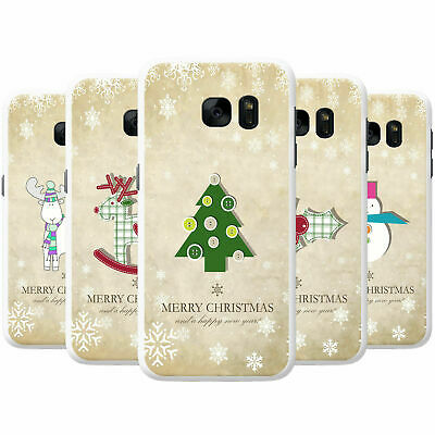Christmas & New Year Wishes Snap-on Hard Back Case Phone Cover for Nokia Phones