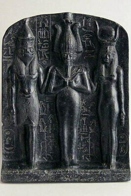 ABYDOS TRIAD - egyptian relief - ancient egyptian