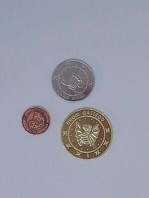 Harry Potter Themed Coin Set, 3 Piece