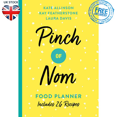 Pinch Of Nom Food Planner Weekly Meals Diet Weight Loss Recipes Paperback Book