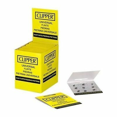 Clipper Lighter Flints, Will Work In ALL Flint Lighters Including Zippo 18 Flint
