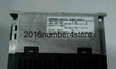 1PC Used OMRON 3G3MX2-A4015-Z Inverter