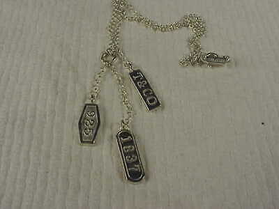 Lovely Tiffany & Co Sterling Silver Necklace & Pendant