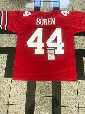 check out 435ad 5af18 ZACH BOREN OHIO State Buckeyes Signed Custom Jersey Jsa