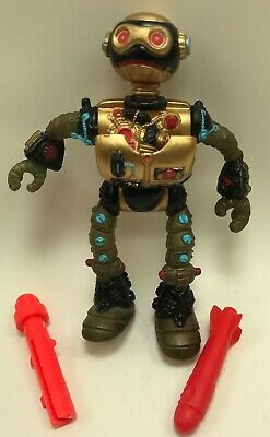 1990 Fugitoid Teenage Mutant Ninja Turtles TMNT Vintage Figure
