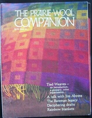 Prairie Wool Companion 14 Special Issue Tied Unit Weaves Weaving Magazine