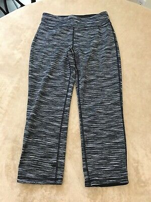 Old Navy Active Girls Capri Athletic Exercise Pants Gray Girl's Sz XL Fitted