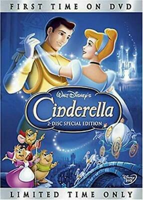 Cinderella DVD (2005) Disney Movie Platinum Edition- New/Sealed >Free Shipping>>