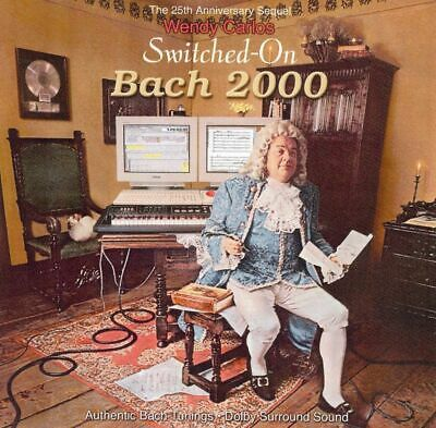 Wendy Carlos - Switched-On Bach 2000 ( AUDIO CD in JEWEL CASE )