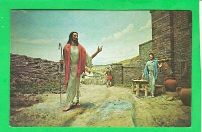 Postcard ~ Christ, passing through the gates of custom ~ Vintage 8018