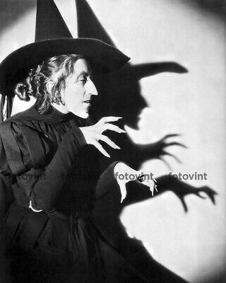 WIZARD of OZ Photo Picture WICKED WITCH Margaret Hamilton Photograph Print 8x10
