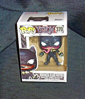Funko Pop Venomized Black Panther Marvel Venom #370