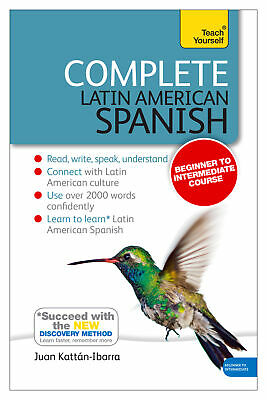 Complete Latin American Spanish Beginner to Intermediate Course 'Learn to read,