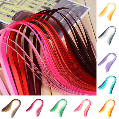 DIY Art Strips 3mm Quilling Paper Mixed Origami Paper Craft HandCraft Colored