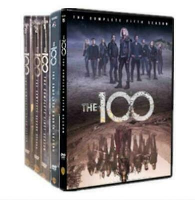 The 100 Complete seasons 1-5 series DVD Set 17 discs 60 Day Warranty Brand New
