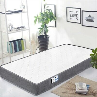 Double/Single Mattress with Breathable Comfy Foam Individually Wrapped Spring