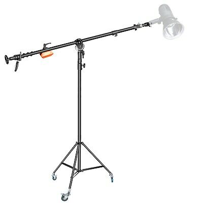 Neewer Pro Video Counter Weight Boom Stand Set: Light Stand with Boom Arm