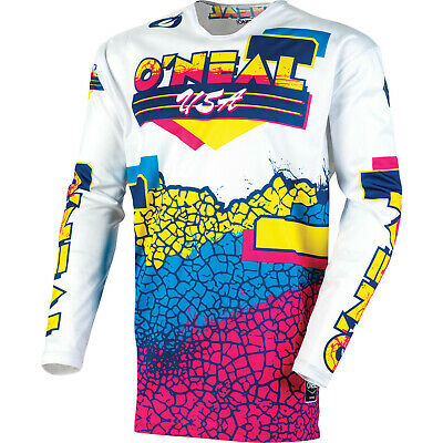 Oneal Mayhem 2020 Crackle 91 Motocross Jersey Bike Off Road Adventure Enduro ATV