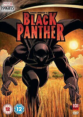 Black Panther    (DVD)    New!   Marvel Knights Animation