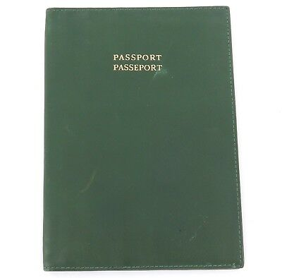 Vintage / Old Style 68.09.03 Rolex Passport Large Green Leather Wallet.