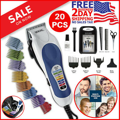 Wahl Professional Hair Cut Machine Barber Salon Cutting Clippers Trimmer Kit New