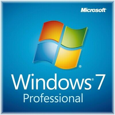 Windows 7 Professional PRO 32 64 Full Version SP1 + Product Key.