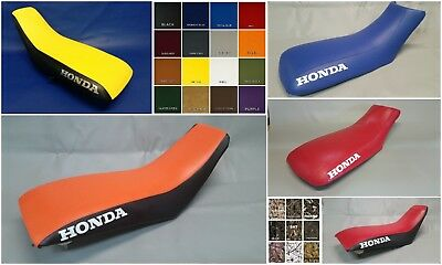 HONDA SIDES HONDA TRX400X Seat Cover in 2-tone RED /& BLACK or 25 colors