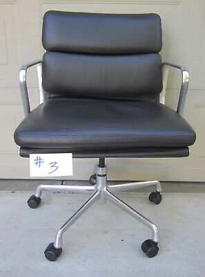 Herman Miller Eames Soft Pad Aluminum Group Executive Chair MR5559