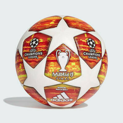 Adidas Uefa Champions League Madrid 2019 Final Official Soccer Match Ball Size 5